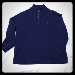 Men's Polo half zip pullover